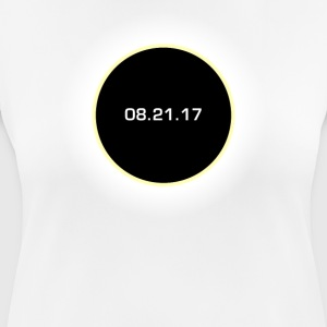 Circle Total Solar Eclipse Celestial T-Shirt, Sun - Women's Breathable T-Shirt