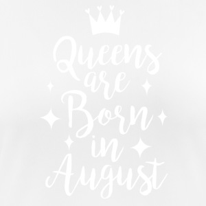 Queens are born in August - Women's Breathable T-Shirt