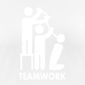 Teamwork drinking - Women's Breathable T-Shirt