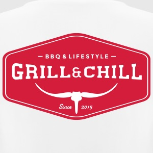 Grill and Chill / BBQ en Lifestyle Origin Logo - vrouwen T-shirt ademend