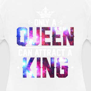 King Queen (1von2) - Frauen T-Shirt atmungsaktiv