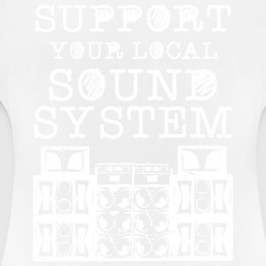 SUPPORT YOUR LOCAL SOUNDSYSTEM - Women's Breathable T-Shirt
