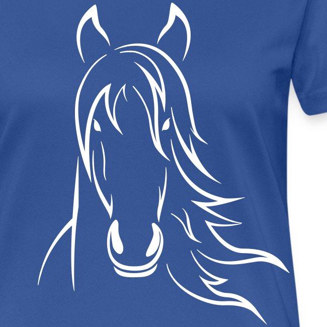 Vorschau: Horse - Frauen T-Shirt atmungsaktiv