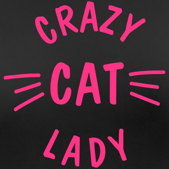 Crazy Cat Lady meow - Frauen T-Shirt atmungsaktiv