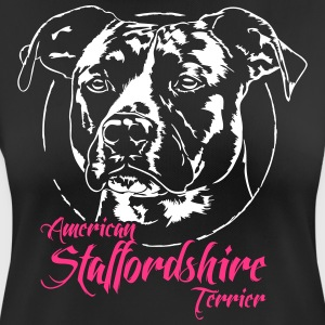 American Staffordshire Terrier 2 - vrouwen T-shirt ademend