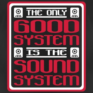 The only good system is the soundsystem - Women's Breathable T-Shirt