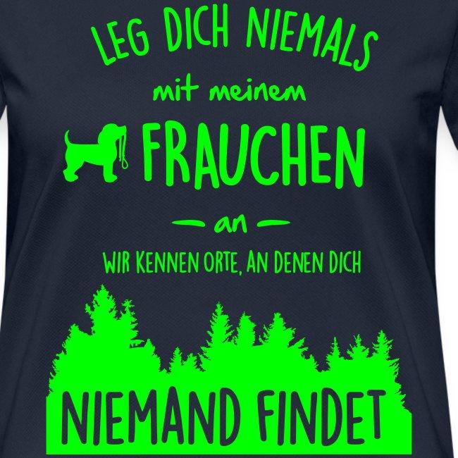 Vorschau: Mein Frauchen - Frauen T-Shirt atmungsaktiv