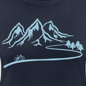 Mountainbike Trail - Andningsaktiv T-shirt dam