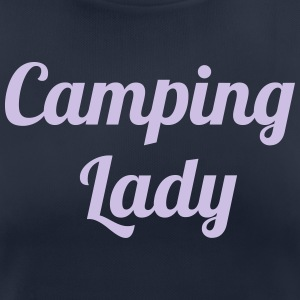 Camping Lady - T-shirt respirant Femme