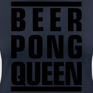 BEERPONG QUEEN - Women's Breathable T-Shirt