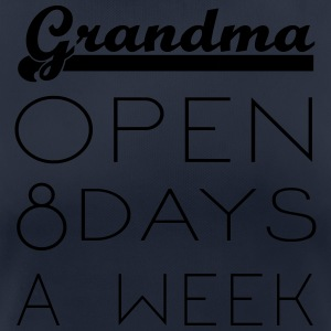 Grandma: Opening hours 8 days / week - Women's Breathable T-Shirt