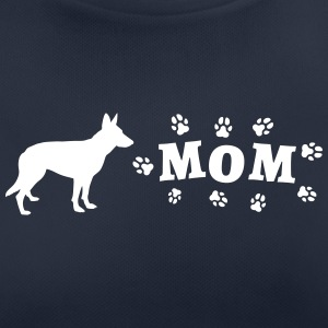 Shepherd dog - Mom with dog paws - Women's Breathable T-Shirt