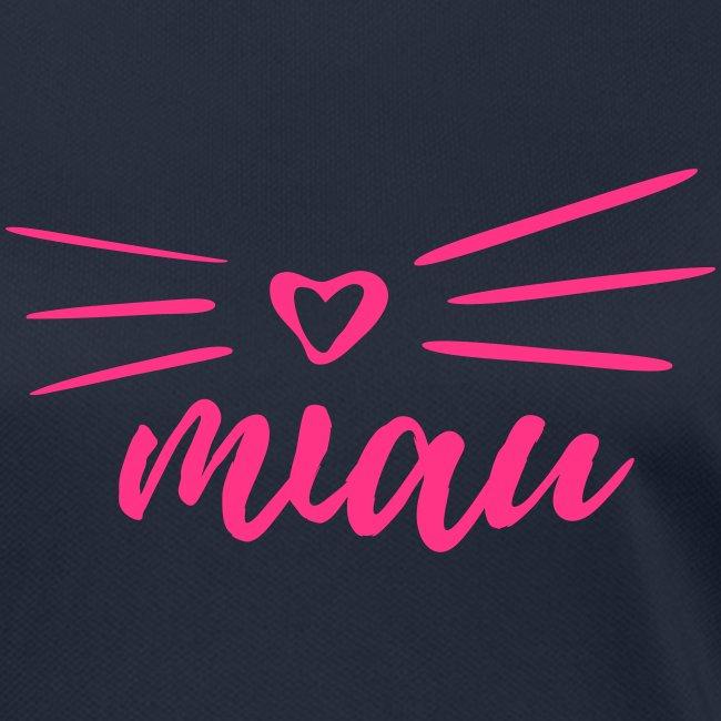 Vorschau: miau - Frauen T-Shirt atmungsaktiv