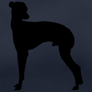 Vector dog Silhouette - Women's Breathable T-Shirt