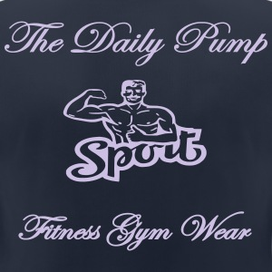 The Daily Pump Muscle Sport - Frauen T-Shirt atmungsaktiv