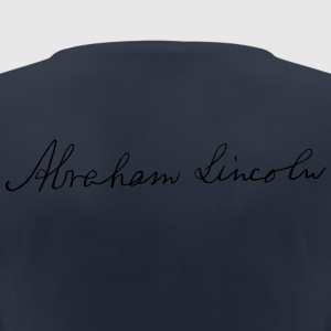 Abraham Lincoln 1862 Firma - Camiseta mujer transpirable