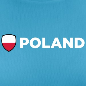 National Flag of Poland - Andningsaktiv T-shirt dam