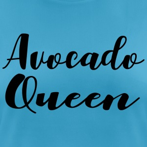 avocado Queen - vrouwen T-shirt ademend