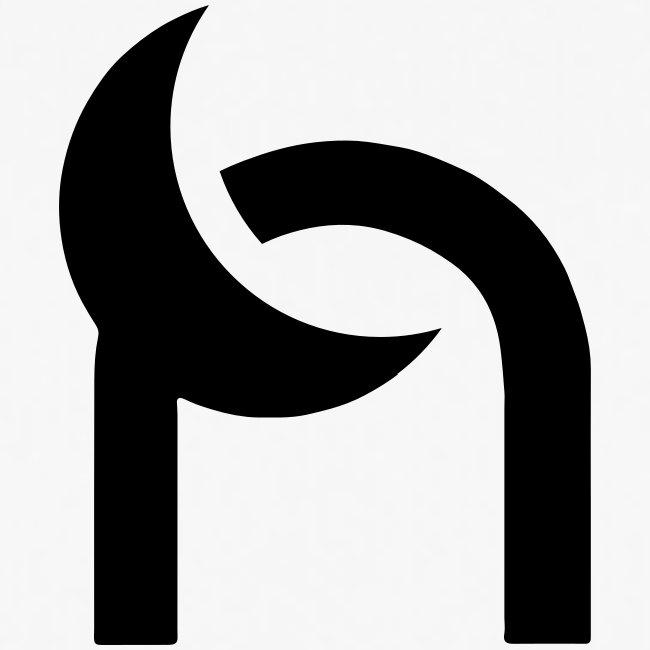 Nocturnal n logo black