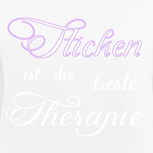 Borduren is de beste therapie - Vrouwen tanktop ademend