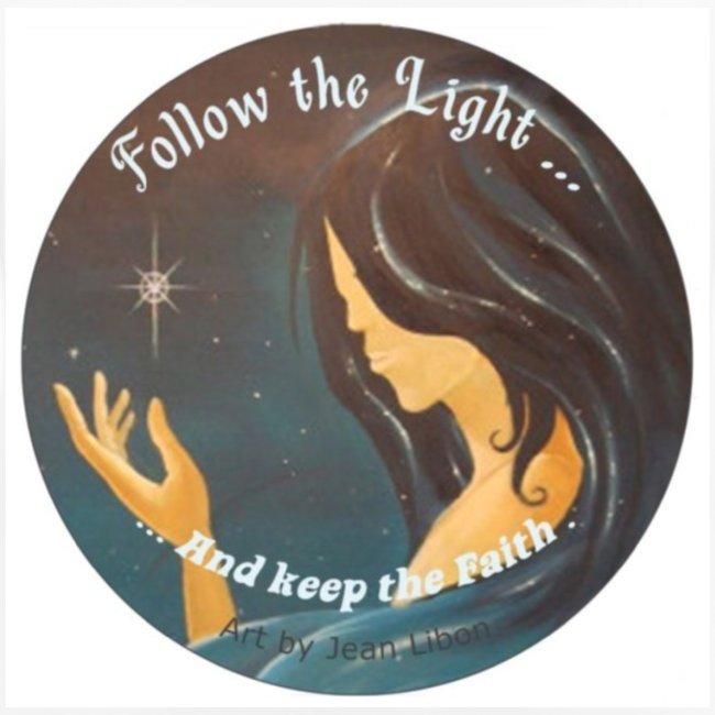 """""""Follow the light"""", d'après le peinture """"Améthyste"""