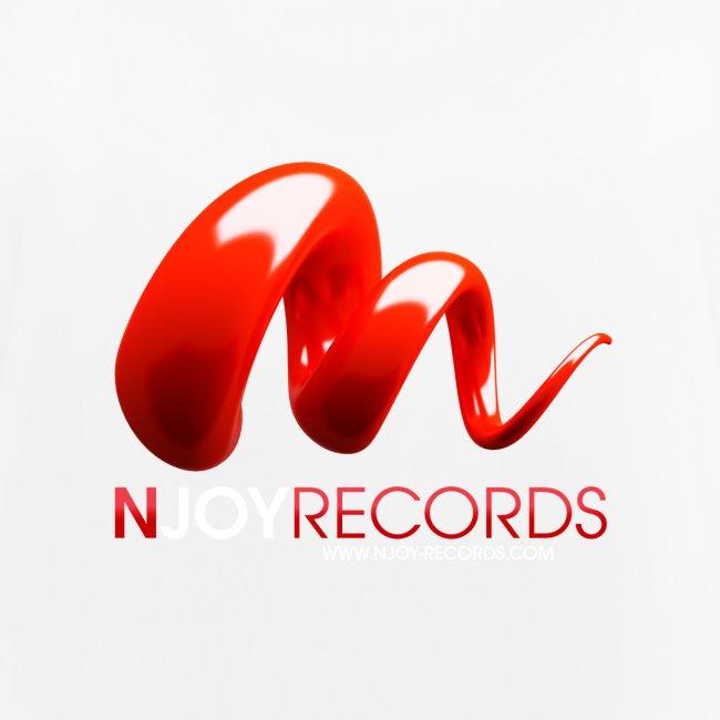 Logo Njoy Records Blanc