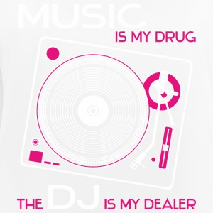 music is my drug the dj is my dealer girls pink - Frauen Tank Top atmungsaktiv