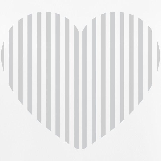 Heart grey opacity png
