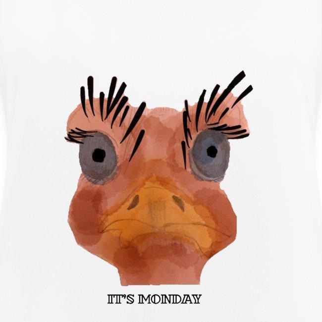 Srauss, again Monday, English writing