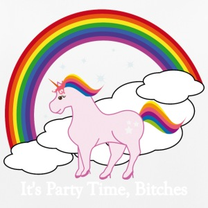 Party Time Unicorn - Vrouwen tanktop ademend