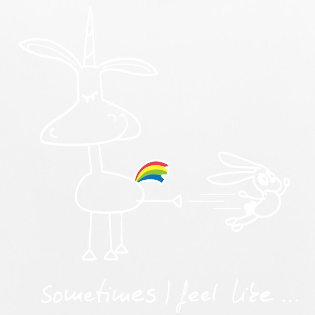 Dru - sometimes I feel like... (weisse Outline)
