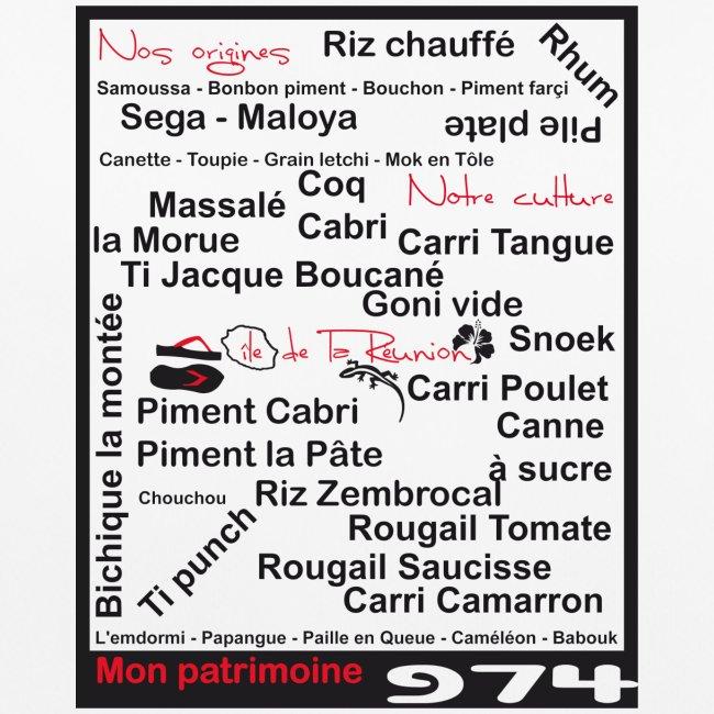 Logo Nos origines Notre culture langage Réunion