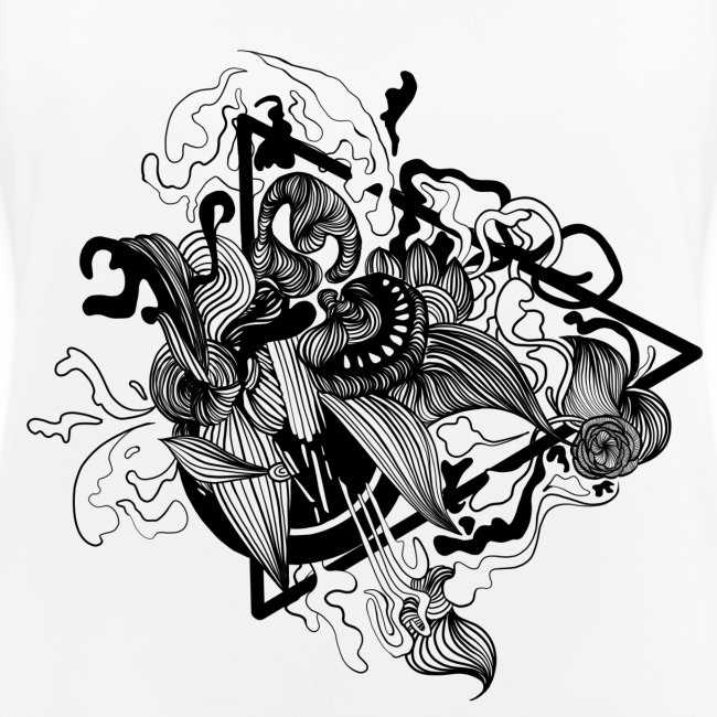Abstract ink Doodle