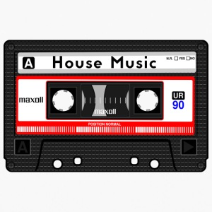 HOUSE MUSIC CASSETTE - Top da donna traspirante