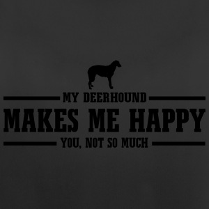DEERHOUND makes me happy - Frauen Tank Top atmungsaktiv