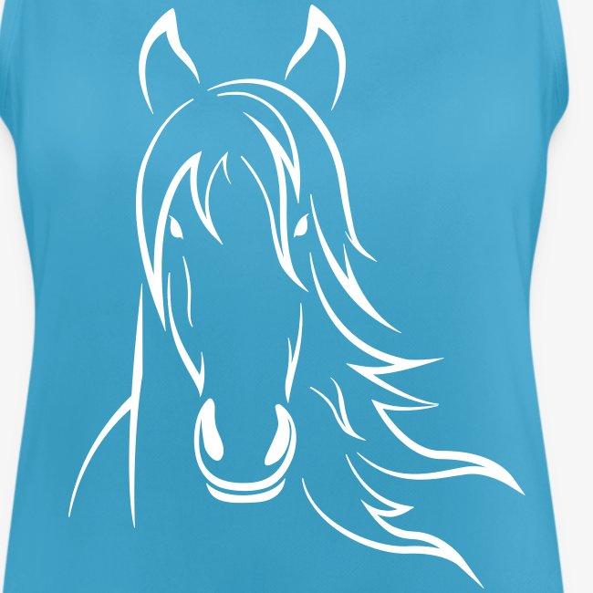 Vorschau: Horse - Frauen Tank Top atmungsaktiv
