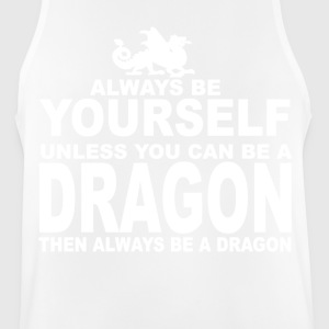 always be a dragon - Camiseta sin mangas hombre transpirable