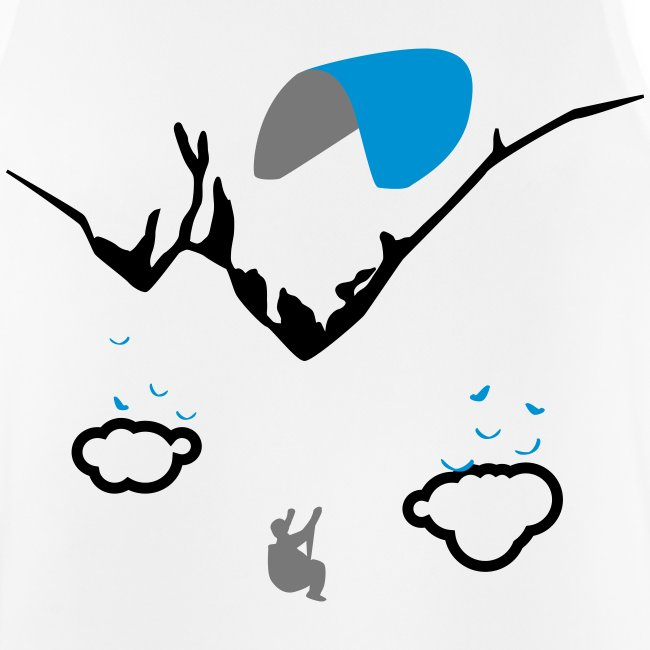 Upside Down Paragliding