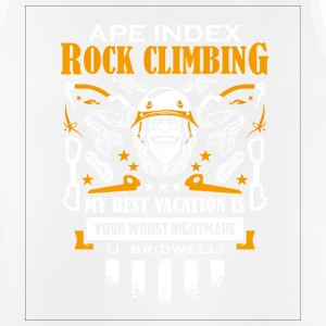 ApeIndex Rock Climbing Orange - Andningsaktiv tanktopp herr