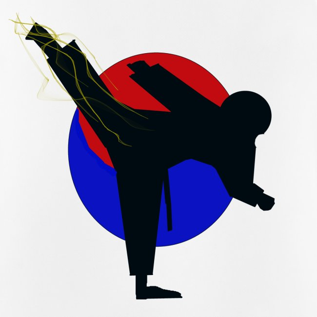 Taekwondo fighter design