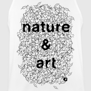 UG Nature and Art B/W - Men's Breathable Tank Top