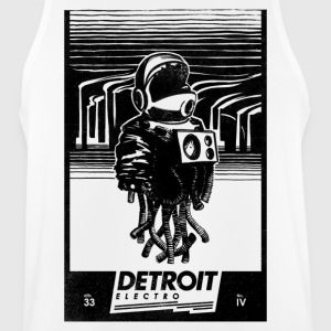 Detroit Electro - Men's Breathable Tank Top