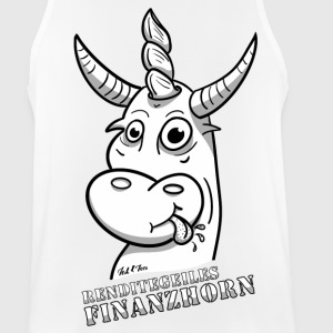 financial Horn - Men's Breathable Tank Top