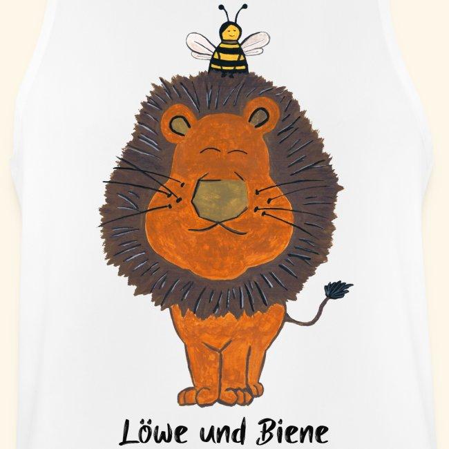 Löwe und Biene