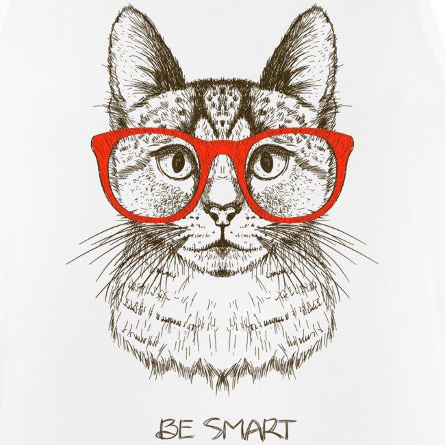 Vorschau: Cat Hipster - Männer Tank Top atmungsaktiv