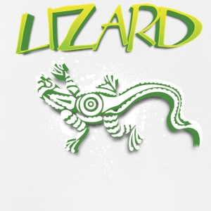 Cool tribal lizard - Men's Breathable Tank Top