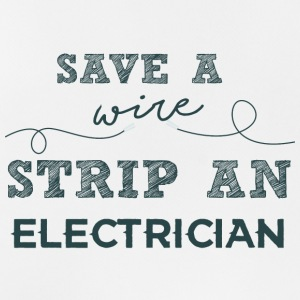 Electricians: Save a wire. Strip of Electrician. - Men's Breathable Tank Top