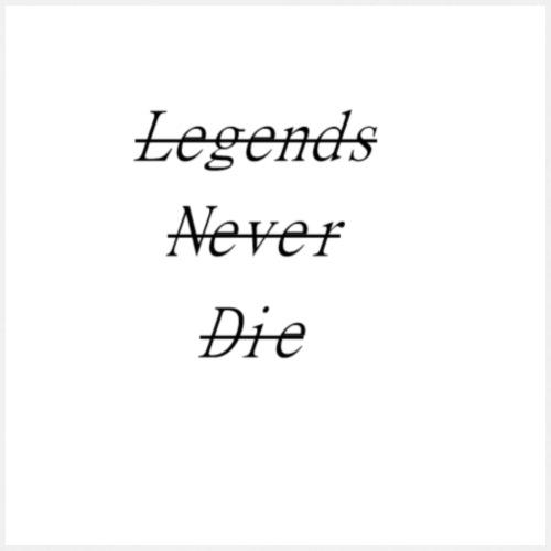 Legends Never Die! - Männer Tank Top atmungsaktiv