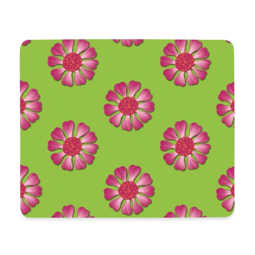 Lovedesh BD Flora & Fauna - Pinkie Green - Mouse Pad (horizontal)