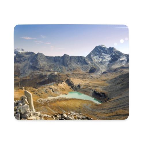 tapis lac blanc - Tapis de souris (format paysage)